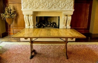 handmade-rustic-farm-table