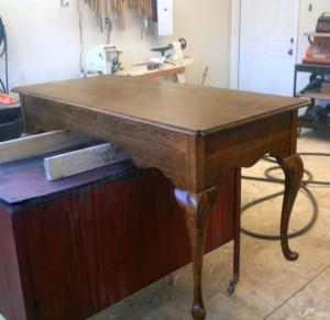 Queen Anne Desk after base color