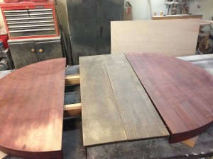Old Dining Table Refinish Project