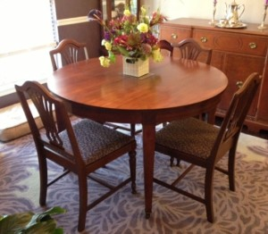 Table Refinished