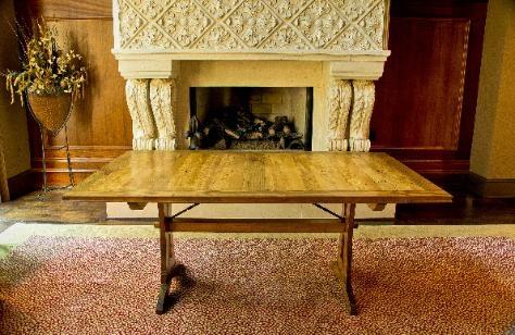 Handmade Rustic Farm Table
