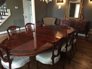 Dining Table Refinished