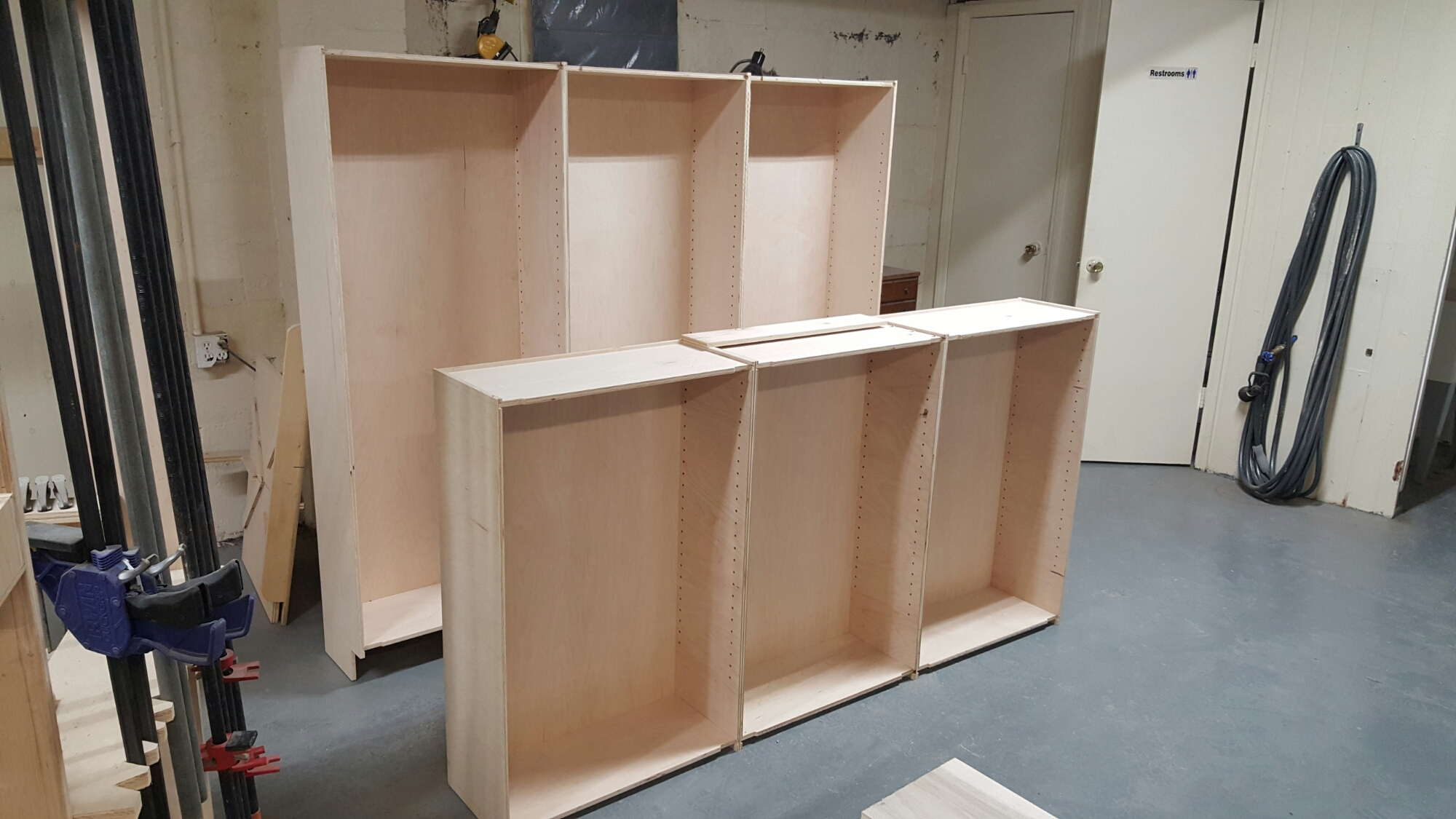 Starting with custom built pantry cabinets